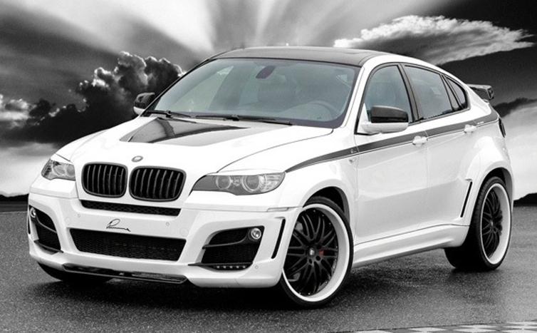 Персональный сайт - BMW X6